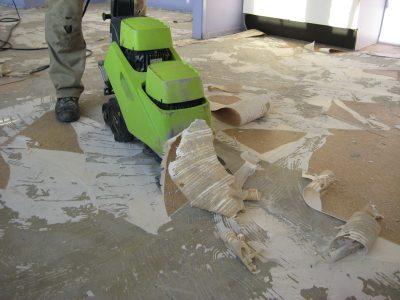 Vloer verwijderen egaliseren en onderhouden albano
